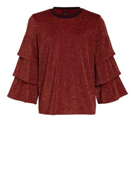 SCOTCH R'BELLE Blusenshirt mit Glitzergarnen, Farbe: ROT (Bild 1)