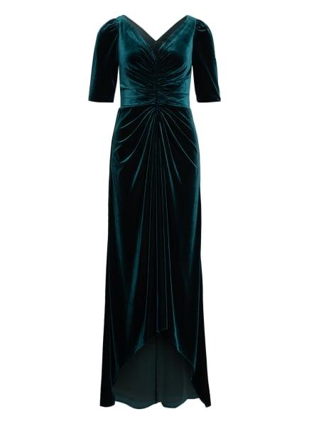 ADRIANNA PAPELL Abendkleid aus Samt, Farbe: DUNKELGRÜN (Bild 1)