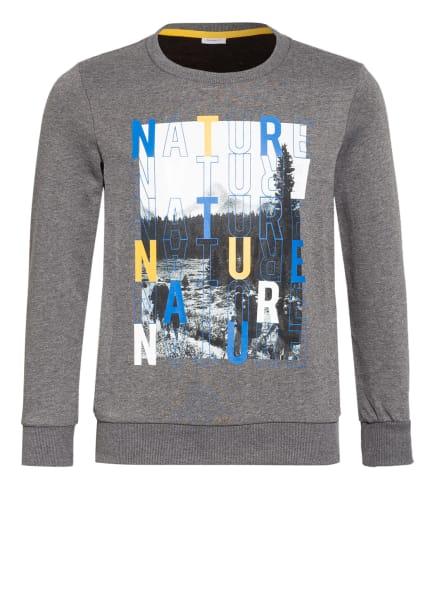 name it Sweatshirt, Farbe: GRAU/ SCHWARZ/ BLAU (Bild 1)