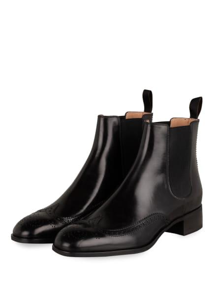 Santoni Chelsea-Boots, Farbe: SCHWARZ (Bild 1)