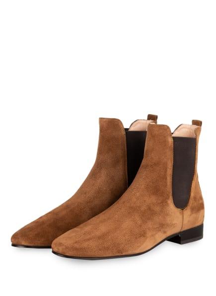 AGL ATTILIO GIUSTI LEOMBRUNI Chelsea-Boots, Farbe: COGNAC (Bild 1)