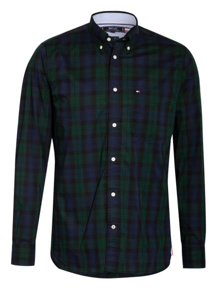 TOMMY HILFIGER Hemd Regular Fit, Farbe: GRÜN/ DUNKELBLAU/ BLAU (Bild 1)