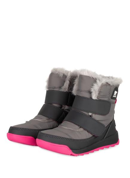 SOREL Boots WHITNEY II mit Kunstpelzfutter, Farbe: GRAU (Bild 1)
