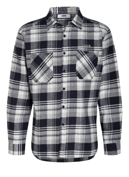 BALR. Hemd Straight Fit, Farbe: WEISS/ DUNKELBLAU/ GRAU (Bild 1)
