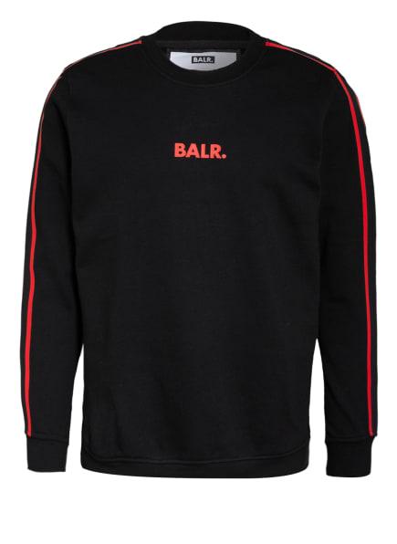 BALR. Sweatshirt, Farbe: SCHWARZ/ ROT (Bild 1)