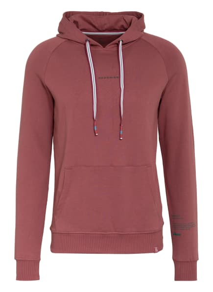 COLOURS & SONS Hoodie BAILEY, Farbe: HELLROT (Bild 1)