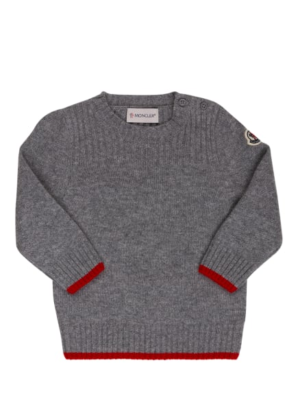 MONCLER enfant Pullover mit Cashmere, Farbe: GRAU (Bild 1)