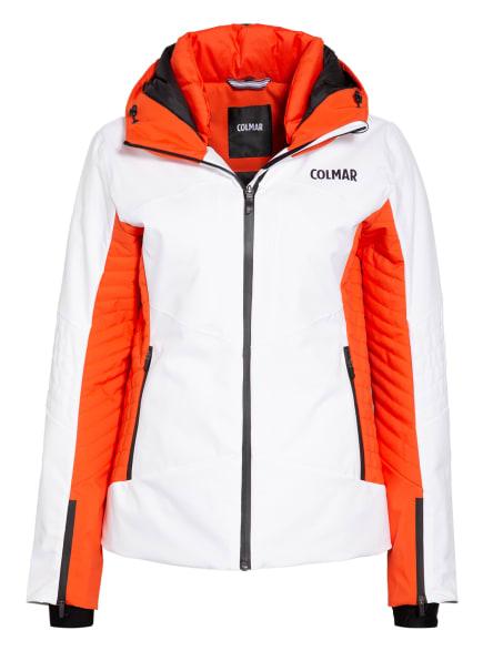 COLMAR Skijacke ASPEN, Farbe: WEISS/ ORANGE (Bild 1)