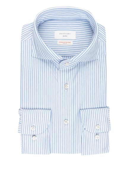 PROFUOMO Hemd Slim Fit, Farbe: WEISS/ HELLBLAU (Bild 1)