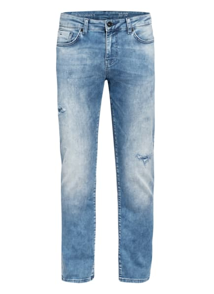 STROKESMAN'S Jeans Slim Fit, Farbe: LIGHT BLUE USED (Bild 1)
