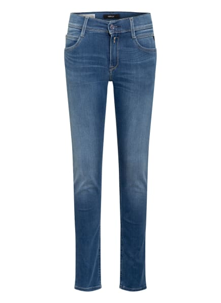 REPLAY Jeans WALLYS Super Slim Fit, Farbe: HELLBLAU (Bild 1)