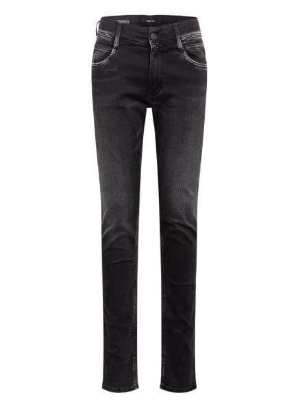 REPLAY Jeans WALLYS Super Slim Fit, Farbe: SCHWARZ (Bild 1)
