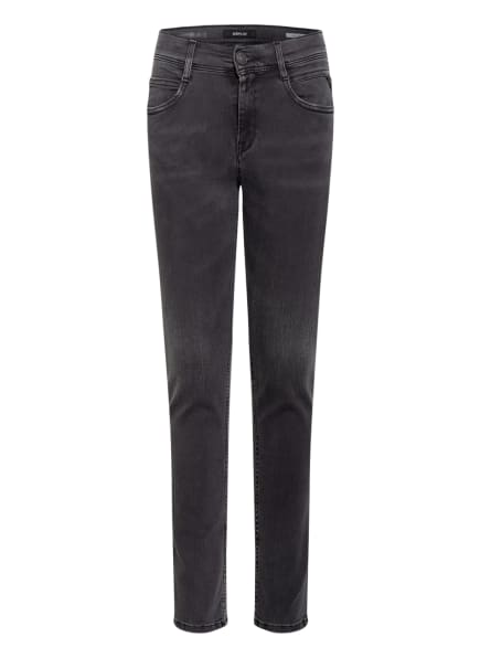 REPLAY Jeans WALLYS Super Slim Fit, Farbe: DUNKELGRAU (Bild 1)