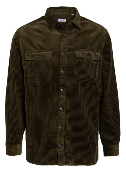 PAUL Cord-Overshirt, Farbe: KHAKI (Bild 1)