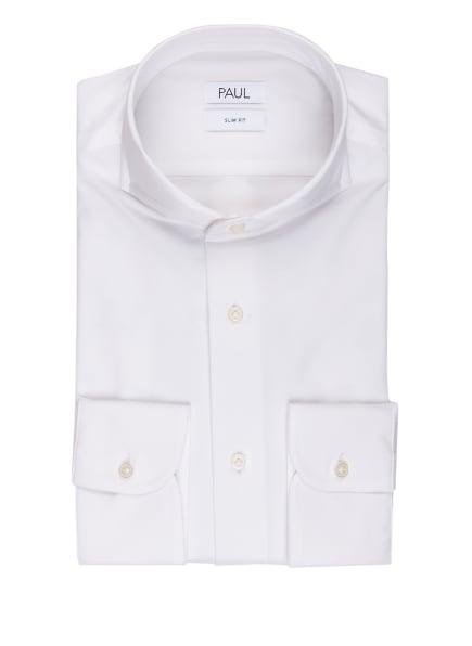 PAUL Jerseyhemd Slim Fit, Farbe: WEISS (Bild 1)