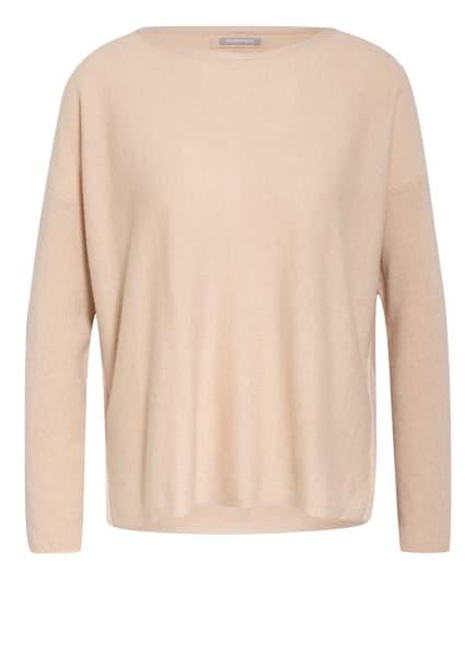 HEMISPHERE Cashmere-Pullover mit Schmucksteinbesatz, Farbe: NUDE (Bild 1)