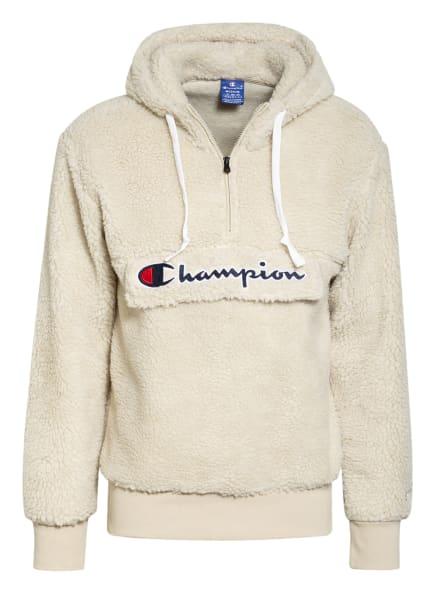 Champion Teddyfell-Hoodie, Farbe: CREME (Bild 1)