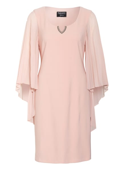 FRANK LYMAN Kleid mit Schmucksteinbesatz, Farbe: HELLROSA (Bild 1)