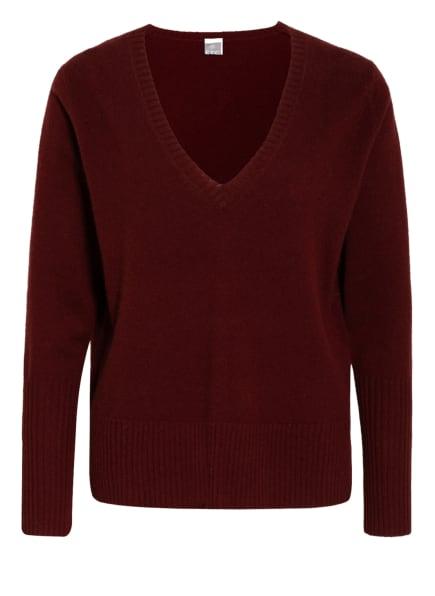 FTC CASHMERE Cashmere-Pullover , Farbe: DUNKELROT (Bild 1)