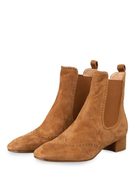 UNÜTZER Chelsea-Boots , Farbe: CAMEL (Bild 1)