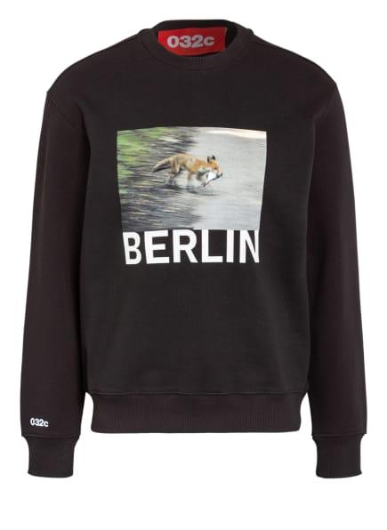 032c Sweatshirt, Farbe: SCHWARZ (Bild 1)