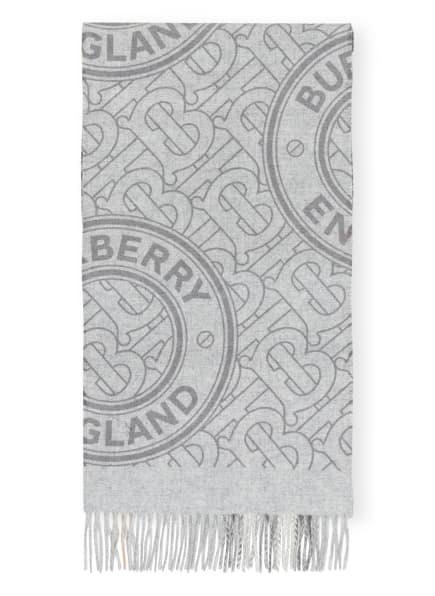 BURBERRY Cashmere-Schal , Farbe: HELLGRAU/ GRAU (Bild 1)
