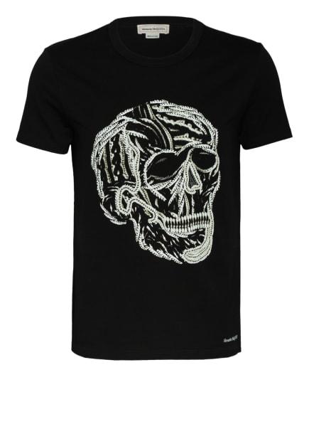 Alexander McQUEEN T-Shirt, Farbe: SCHWARZ/ WEISS (Bild 1)