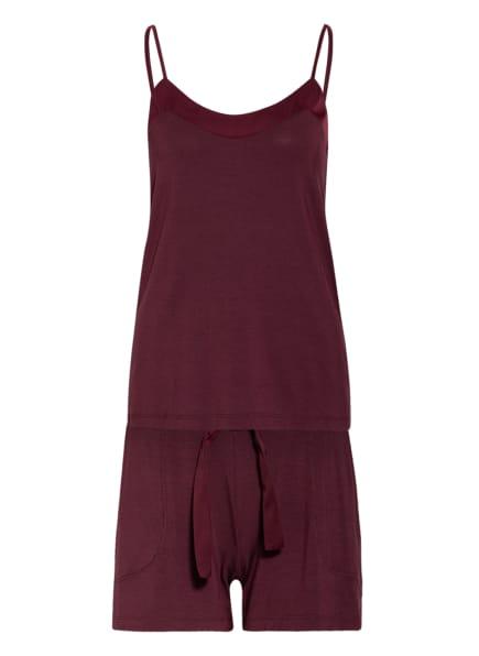 Marc O'Polo Shorty-Schlafanzug , Farbe: DUNKELROT (Bild 1)