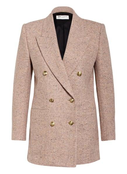SAINT LAURENT Tweed-Blazer, Farbe: HELLROSA/ HELLLILA/ HELLORANGE (Bild 1)