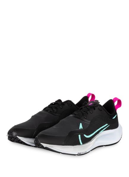 Nike Laufschuhe AIR ZOOM PEGASUS 37 SHIELD, Farbe: SCHWARZ/ PINK/ MINT (Bild 1)