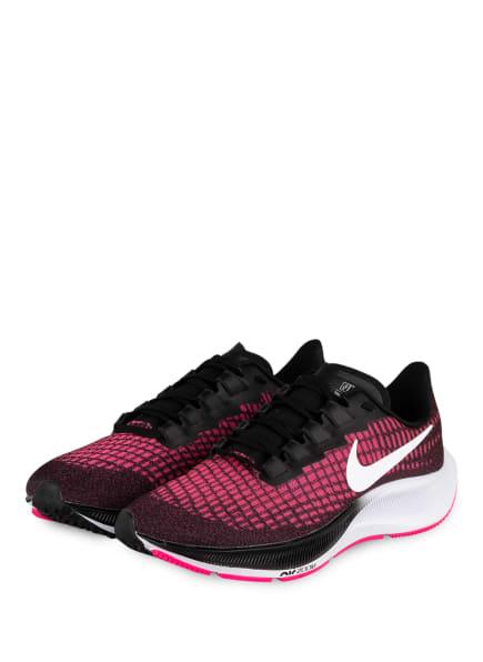 Nike Laufschuhe AIR ZOOM PEGASUS 37, Farbe: PINK/ SCHWARZ/ WEISS (Bild 1)
