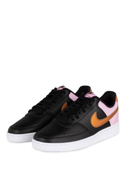 Nike Sneaker COURT VISION LOW, Farbe: SCHWARZ (Bild 1)