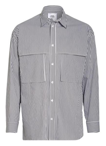 OPENING CEREMONY Oversized-Hemd Comfort Fit, Farbe: SCHWARZ/ WEISS (Bild 1)