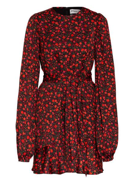 ESSENTIEL ANTWERP Kleid WOLIVES, Farbe: SCHWARZ/ ROT/ GRÜN (Bild 1)