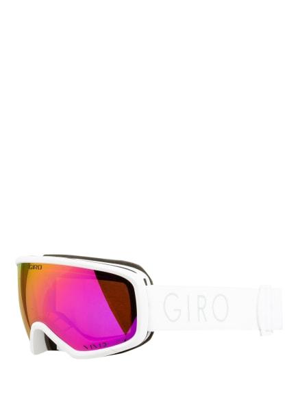 GIRO Skibrille MILLIE, Farbe: 006 white vivid pink (Bild 1)