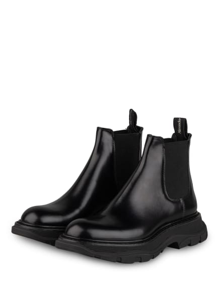 Alexander McQUEEN Chelsea-Boots , Farbe: SCHWARZ (Bild 1)