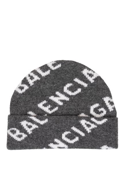 BALENCIAGA Mütze, Farbe: GRAU/ WEISS (Bild 1)
