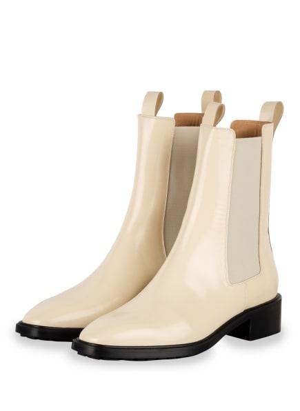 aeyde Chelsea-Boots SIMONE, Farbe: CREME (Bild 1)