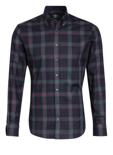 HACKETT LONDON Hemd Slim Fit, Farbe: DUNKELBLAU/ BLAU/ ROT (Bild 1)