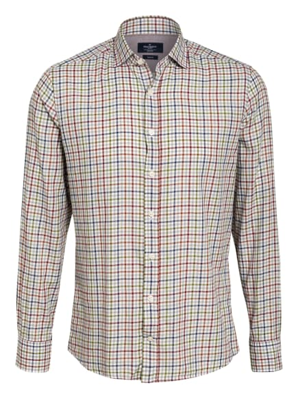 HACKETT LONDON Hemd Slim Fit, Farbe: WEISS/ DUNKELBLAU/ DUNKELROT (Bild 1)