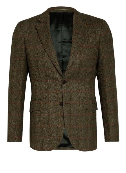 HACKETT LONDON Sakko Extra Slim Fit, Farbe: GRÜN/ HELLGRÜN/ ROT (Bild 1)