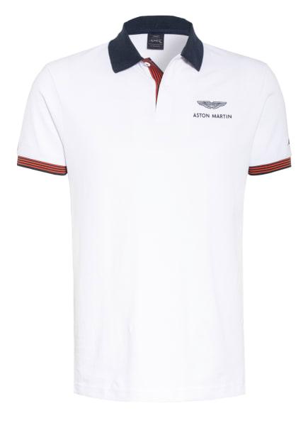 HACKETT LONDON Piqué-Poloshirt , Farbe: WEISS (Bild 1)