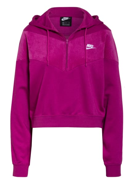 Nike Hoodie SPORTSWEAR HERITAGE, Farbe: FUCHSIA (Bild 1)