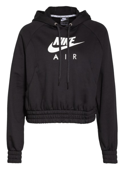 Nike Hoodie SPORTSWEAR AIR, Farbe: SCHWARZ/ WEISS (Bild 1)