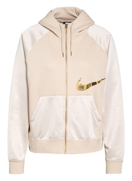 Nike Sweatjacke ICON CLASH, Farbe: CREME/ GOLD (Bild 1)