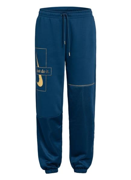 Nike Sweatpants ICON CLASH, Farbe: PETROL/ GOLD (Bild 1)