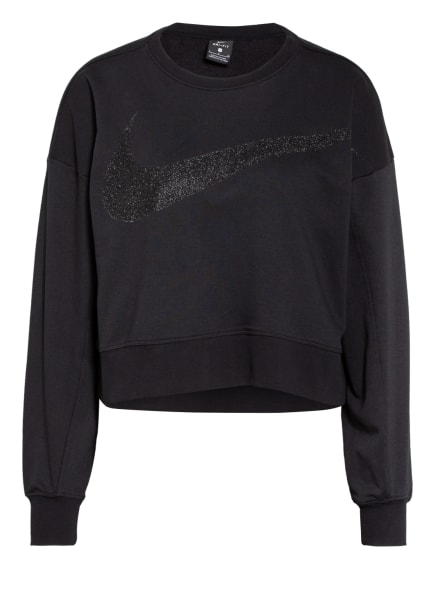 Nike Sweatshirt DRI-FIT GET FIT, Farbe: SCHWARZ (Bild 1)