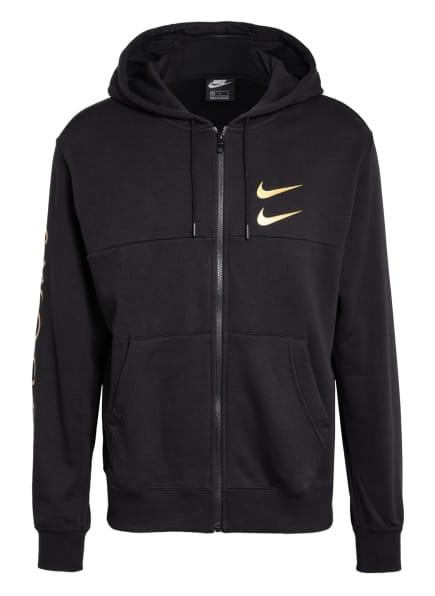 Nike Sweatjacke SPORTSWEAR SWOOSH, Farbe: SCHWARZ (Bild 1)