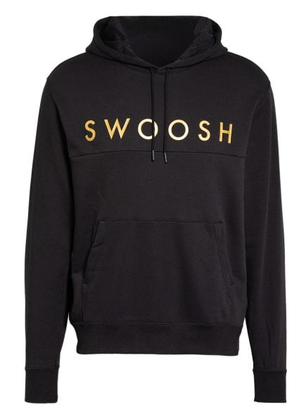 Nike Hoodie SPORTSWEAR SWOOSH, Farbe: SCHWARZ/ GOLD (Bild 1)