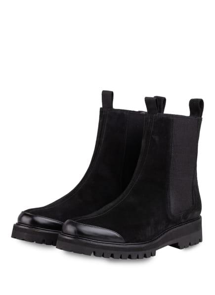 Flattered Chelsea-Boots SALLY, Farbe: SCHWARZ (Bild 1)